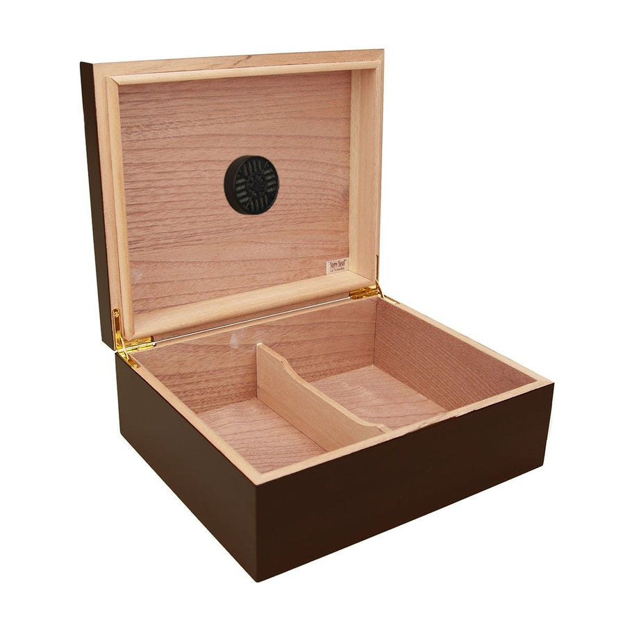 The Piedmont Personalized 25 Cigar Humidor