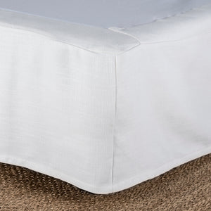 Valance Whisper White KING