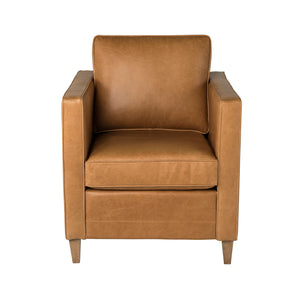 Carrington Armchair Biscotti Leather