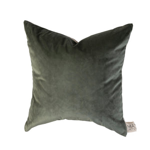 Sawyer Velvet Cushion Sage Green