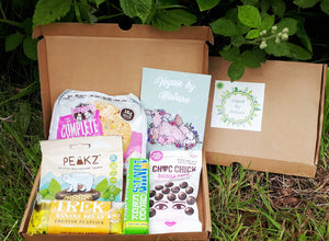 Gift Sweetly - This box makes a perfect vegan birthday gift ! (Even a little from me to me 🤭)