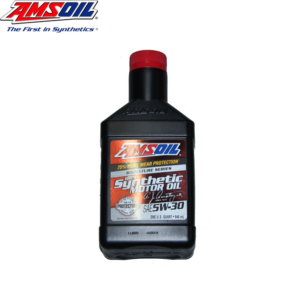 ASLQT Amsoil Signature Series 5W-30 Synthetic Motor Oil