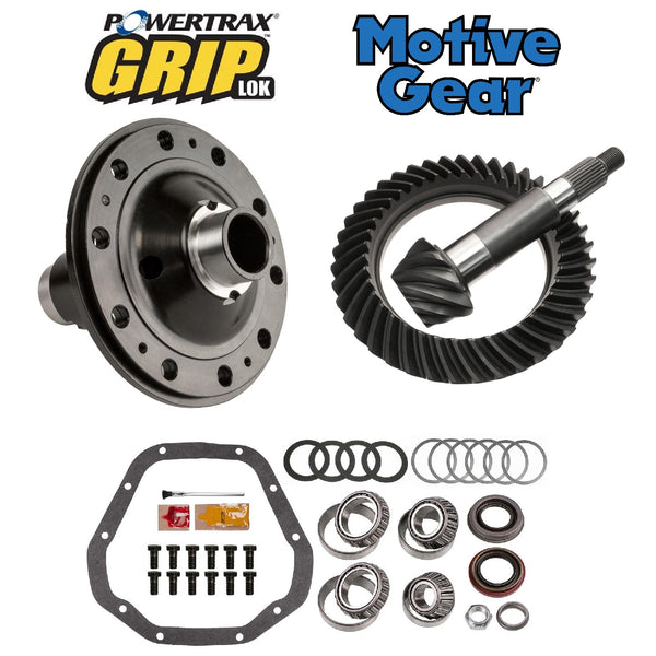Dana 60 Front High Pinion Grip Lok and Motive Gear Package