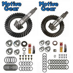 2007-2018 Jeep JK Motive Gear Ring & Pinion w/ Master Bearing Kits Package Front & Rear