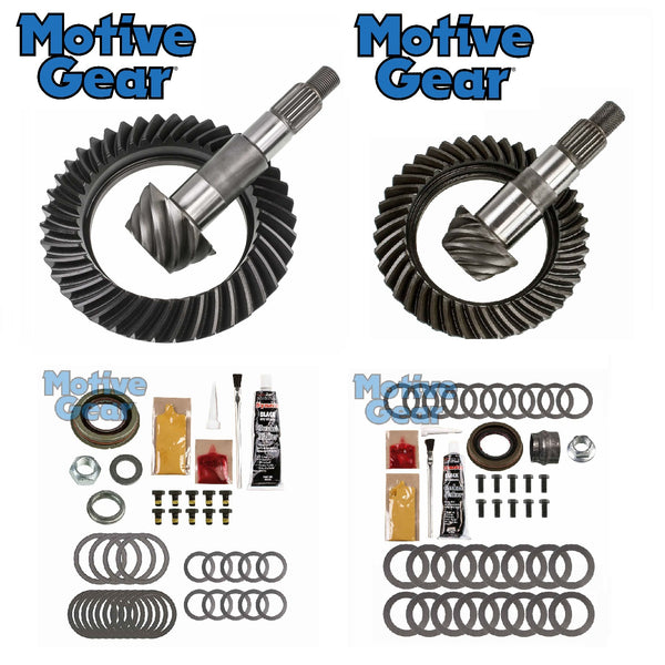 2007-2018 Jeep JK Motive Gear Ring & Pinion w/ Minor Install Kits Package Front & Rear