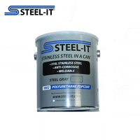 1002G STEEL-IT Gray 1 Gallon Polyurethane Topcoat