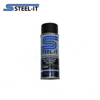 1012B STEEL-IT 14oz Black Polyurethane Aeresol Spray Can