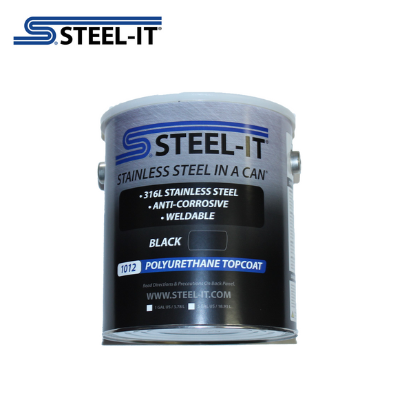 1012G STEEL-IT Black 1 Gallon Polyurethane Topcoat