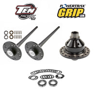 Super 35 Ten Factory Rear Axle Kit w/ Grip Lok Locker for Jeep YJ, XJ, ZJ & TJ w/ Dana 35