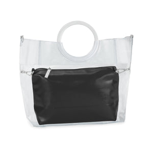 Black Patent Leather Pouch