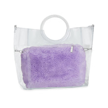 Load image into Gallery viewer, Fuzzy Purple Pouch