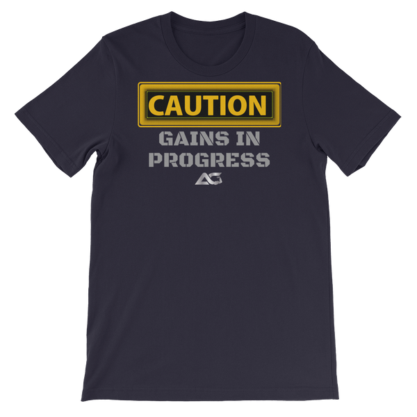 CAUTION GAINS TEE