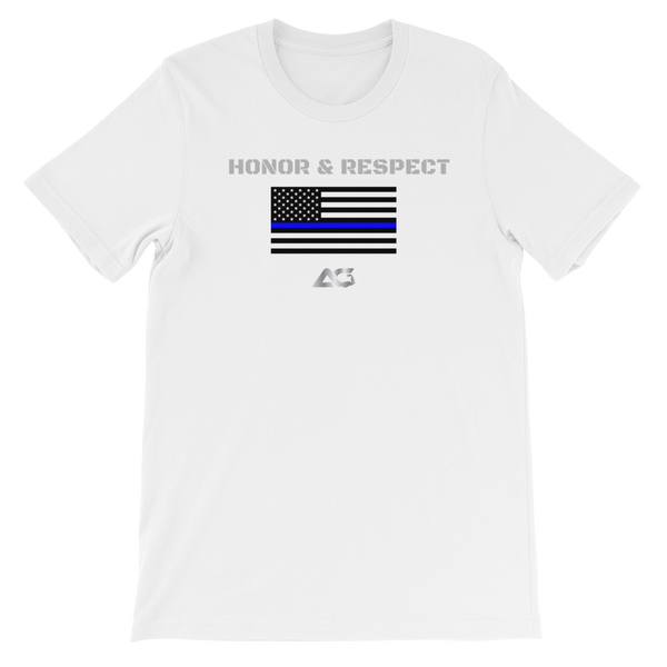 HONOR THE BLUE TEE