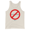 NO SLEEVES ALLOWED BUILT TANK