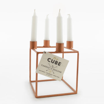 Cube Candle Holder by Elsje Design