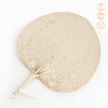 Large Woven Grass Fan