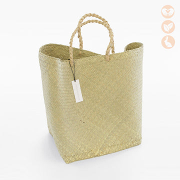 Pandan Basket Bag