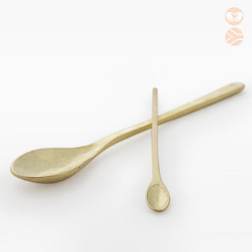 Love Milo Brass Spoon