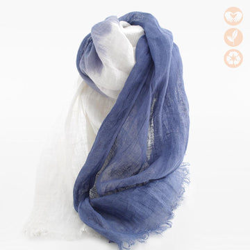 Ombre Linen Scarf
