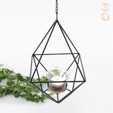 Hanging Geo Candle