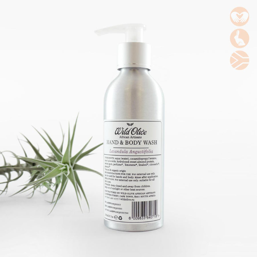 Wild Olive Lavender Hand and Body Wash