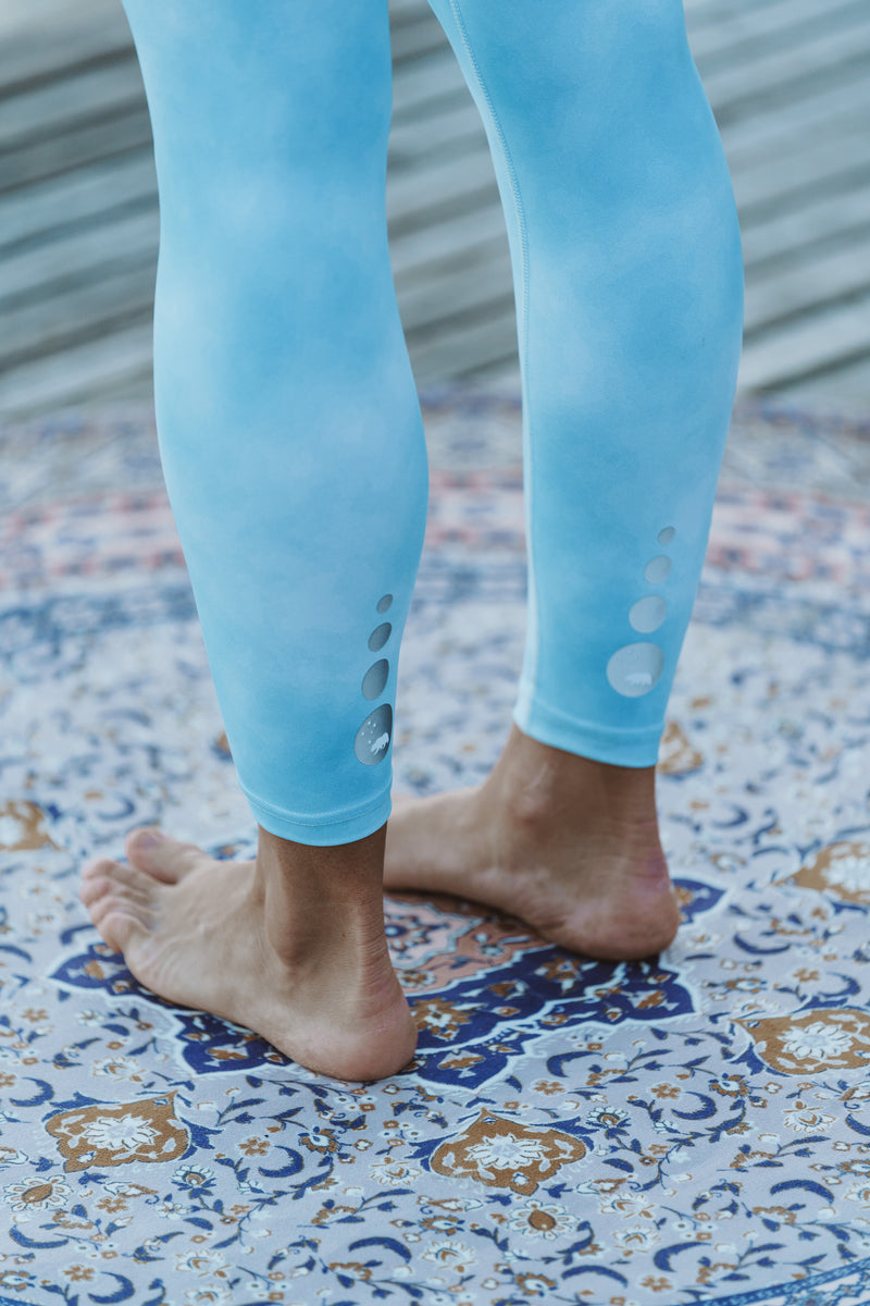 MALO on the run 7/8 tights - bluebird