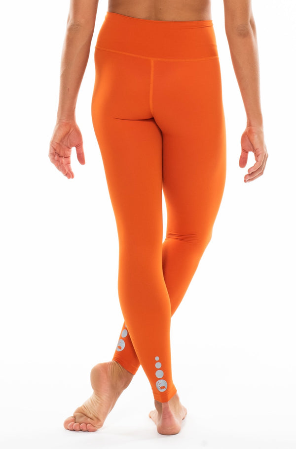 MALO EcoSuede live-in leggings - turmeric