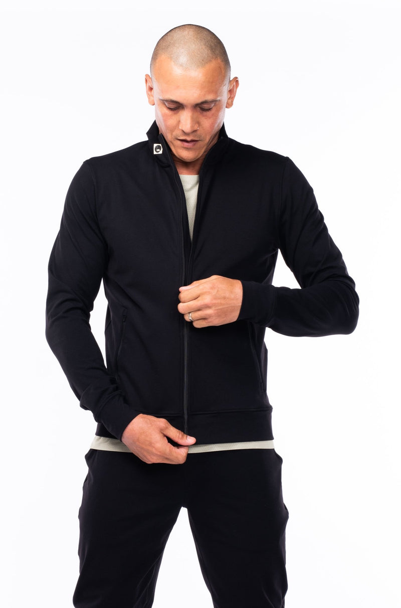 men's bomber jacket - black