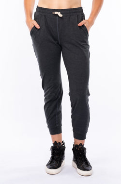 women's limitless jogger - slate heather