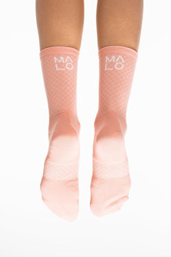 MALO signature socks - peach