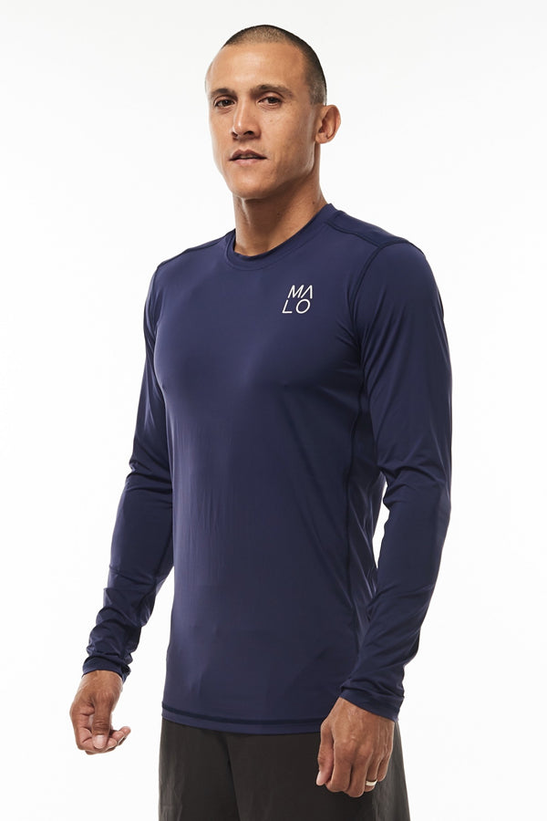 MALO endure long sleeve - navy