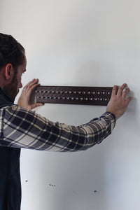 How to Install a Dapper Woodworks Tie Rack