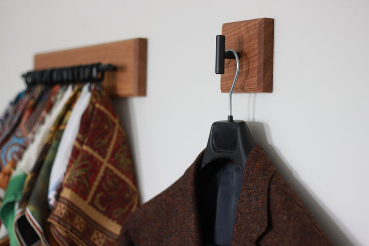 Pocket Square rack and Coat Hook After the Suit Review