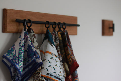 Pocket square display rack