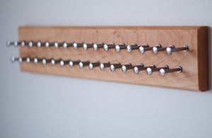 Medium Cherry Tie Rack