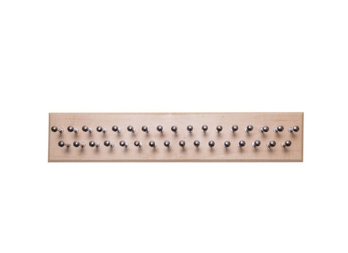 Medium Maple Tie Rack - Dapper Woodworks