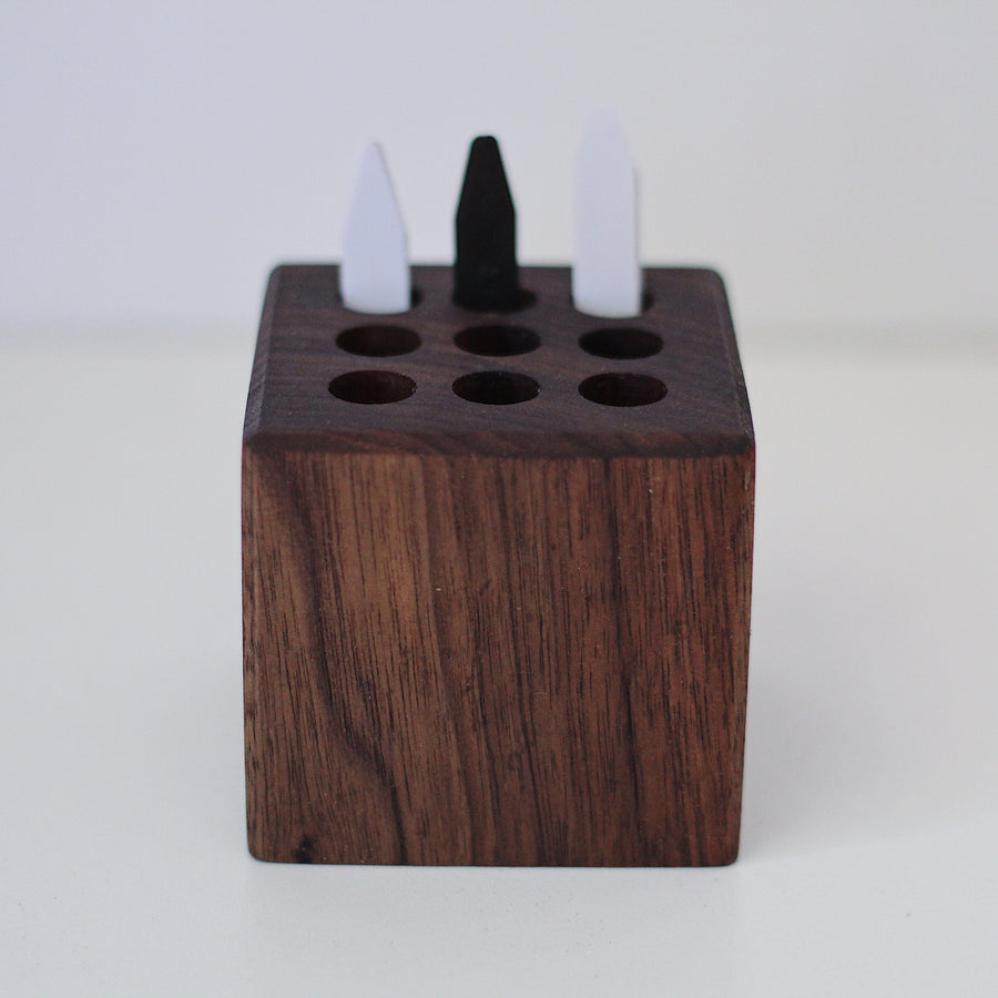 Large Collar Stay Organizer - Dapper Woodworks
