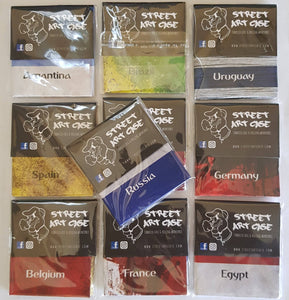 Brand New Pocket Size Tobacco Case&Smoking Workspace World Cup Images Lot Of 10 - benz-market