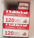 Gizeh Starter Kit 240 Filter Cigarette Tubes + Filling Machine Compact size 7.2mm - benz-market