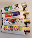 4 Clipper Lighters Pop Art 2 Collection Unused Refillable - benz-market