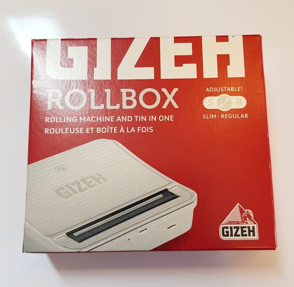 Brand New Gizeh Roll Box Metal Rolling Machine Original Adjustable Slim/regular - benz-market