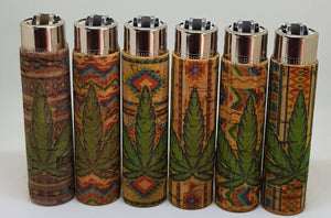 6 Clipper Lighter With Hand Sewn Cork - Clipper Lighters