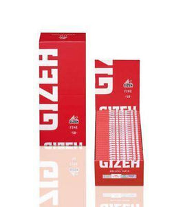 Gizeh Hemp Rolling Paper Fine 18.5 G/m 50 Booklets - Rolling Papers