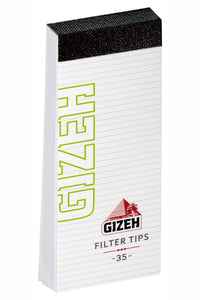 Brand New Gizeh Paper Filter Tips Lot Of 24 Filters 35 Leaves Each King Size