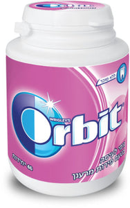 Brand New Wrigley's Orbit Chewing Gum Plastic Bottle Lot Of 12 Bottles Kosher
