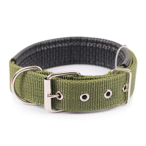 Solid Dog Collars  Nylon Collar For Small Medium Large Dogs