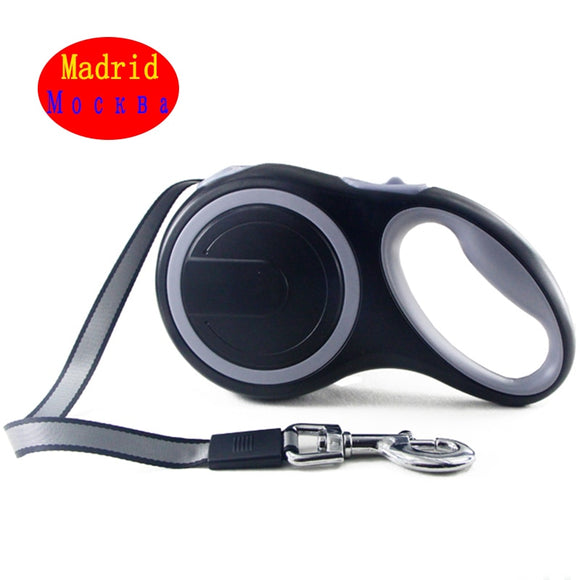 Retractable Dog Leash Heavy Duty Automatic Extending 26Ft Strong Nylon Leash