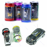 Coke Can Mini RC Radio Remote Control Micro Vehicle Racing Car Toy