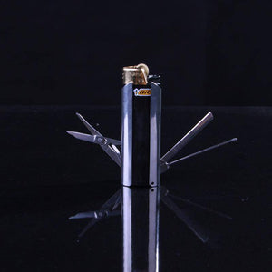 Stainless Steel Accessory Multi Tools For Bic Lighters - benz-market
