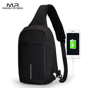 MR Crossbody Bags Men Anti-theft Chest Pack - benz-market